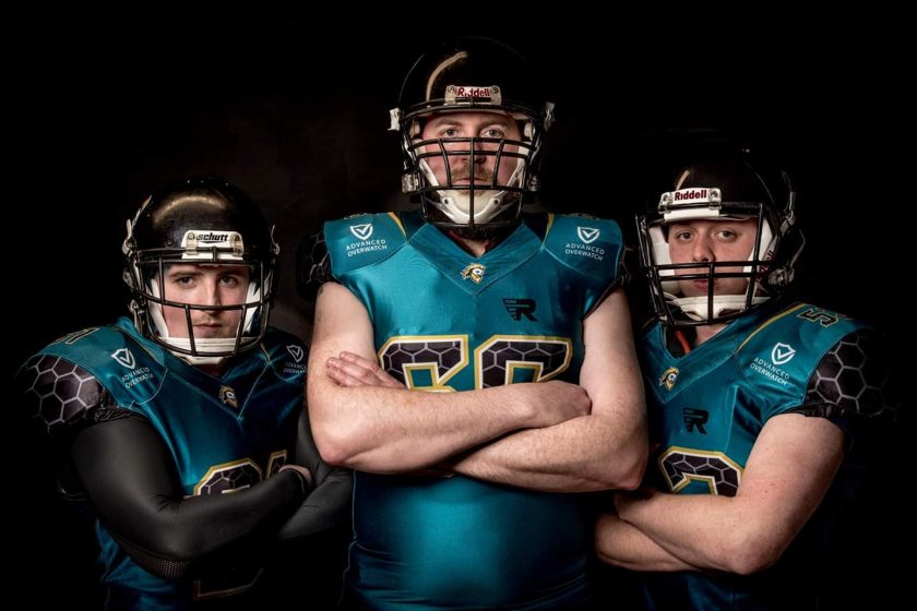 Advanced Overwatch are proud to once again sponsor another local team - Causeway Giants American Football Team.